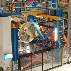 Rolls Roycen potkuritehdas Raumalla - uusi tehdas otettiin käyttöön tammikuussa 2019.