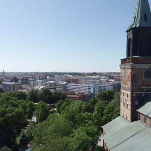 Turku ja Turun tuomiokirkko.