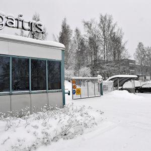 Suomalainen turkishuutokauppayhtiö Saga Fursin tilat Vantaalla 23. tammikuuta 2019.