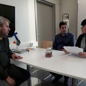 Kaarisillan koulu Teemu Haukio Matti Laakso Johanna Siitari