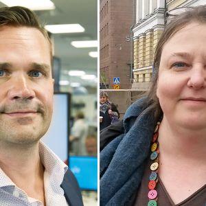 Mika Aaltola ja Laura Lodenius