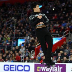 Nathan Chen kuvassa