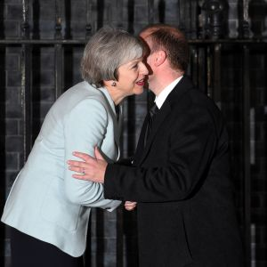 Theresa May ja Joseph Muscat