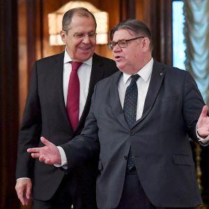 Sergei Lavrov ja Timo Soini