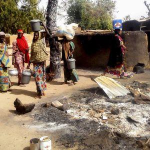 Boko Haramin polttama kylä