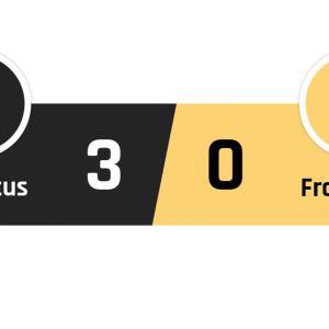 Juventus - Frosinone 3-0