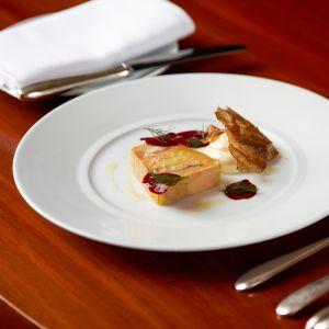 Michelin-ravintolan ruoka-annos.