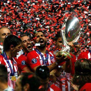 Atletico Madrid Super Cup 2018