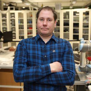 Juha Hjulgren opiskelee automaatio- ja sähköalaa Satakunnan ammattikorkeakoulun muuntokoulutuksessa.