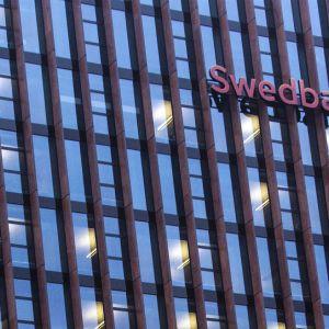 Swedbankin rakennus Vilnassa.