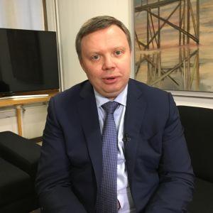 Rosatomin ensimmäinen varapääjohtaja Kirill Komarov.