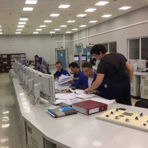 Sosnovyi Borin uuden ydinvoimalan ohjaamo