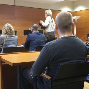 Huumeoikeudenkäynti Pirkanmaan käräjäoikeudessa 22.2.2019