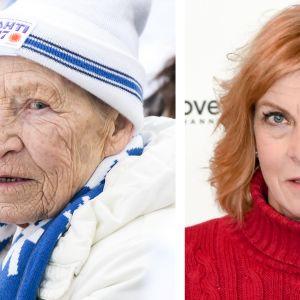 Siiri Rantanen ja Marja-Liisa Kirvesniemi