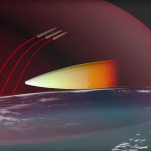 ICBM MARV ballistinen ohjus.
