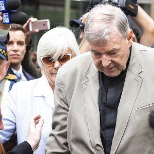 George Pell Melbournessa 26. helmikuuta.