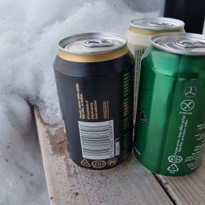 Oluet eivät jäädy pakkasessa ihan heti, mutta liian pitkäksi aikaa niitä ei kannata kylmään unohtaa.