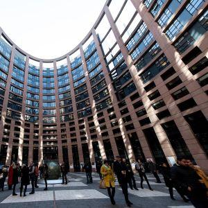 Euroopan parlamentti Strasbourgissa.