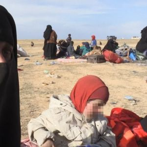 Isis-vaimo haastattalussa
