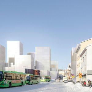 Arkkitehtipalvelu Oy ja Tieno Arkkitehdit Oy visioivat Jyväskylään jopa 20-kerroksisia taloja.