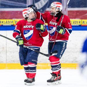 Fanny Jalonen ja Saara Niemi, HIFK