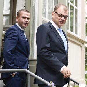Vuoden 2018 talousarvioesitystä koskevat hallituksen neuvottelut alkoivat Kesärannassa.