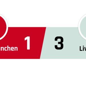 Bayern München - Liverpool 1-3