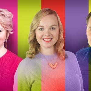 Lapin vaalipiirin ehdokkaita, Kati Tervo, Katri Kulmuni, Heikki Autto.