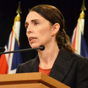 Pääministeri Jacinda Ardern