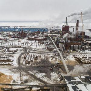 Stora Enson tehdas Oulussa.