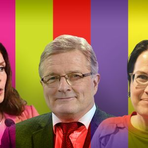 Johannes Koskinen, Lulu Ranne ja Kristiina Hämäläinen.