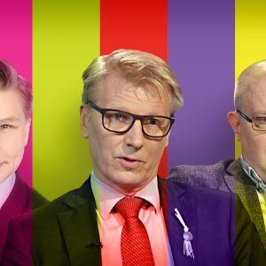 Antti Häkkänen, Kimmo Tiilikainen ja Jari Lindström