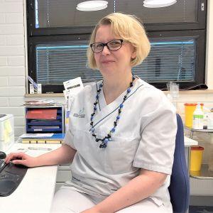 Vuoden terveydenhoitaja 2019 luumäkeläinen Katriina Ovaska.