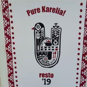 Pure Karelia mainosjuliste.