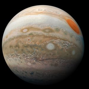 NASAn julkaisema kuva Jupiterista