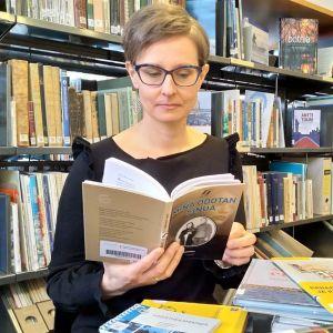 Selkokirjailija Sanna-Leena Knuuttila