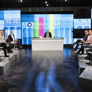 Pienpuolueet Ylen vaalitentissä.