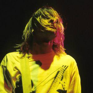 Kurt Cobain konsertoi Lontoon Astoria-teatterissa vuonna 1991.