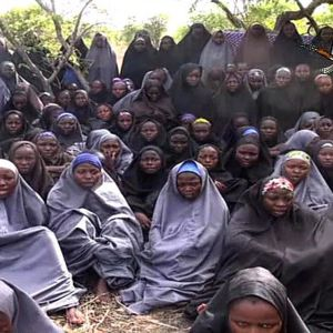 Boko Haramin sieppaamat tytöt.