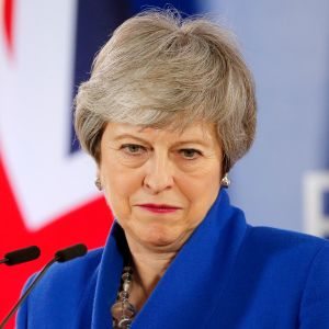 Pääministeri Theresa May