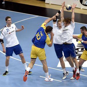 Suomen käsipallomaajoukkue EM-karsinnoissa