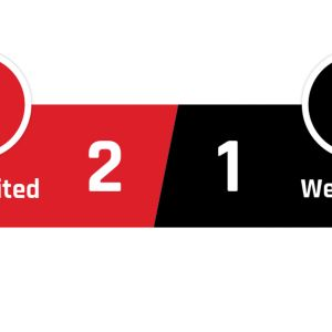 Manchester United - West Ham 2-1