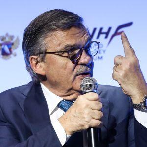 Rene Fasel IIHF