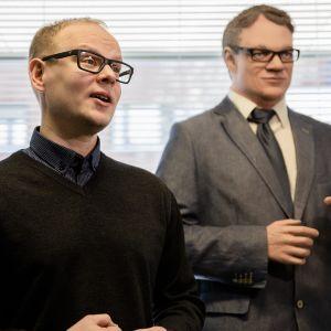 Keskustan Pohjois-Pohjanmaan piirin toiminnanjohtaja Antti Ollikainen.