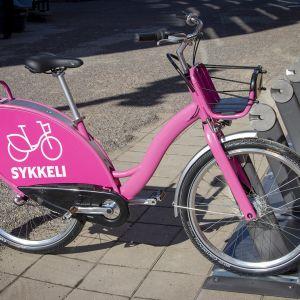 Oulun kaupunkipyörä Sykkeli.