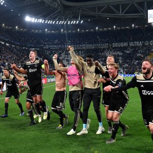 Ajax juhlii välieräpaikkaa Mestarien liigassa
