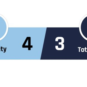 Manchester City - Tottenham 4-3