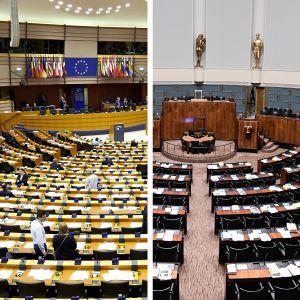 Eu parlamentti ja Eduskunta
