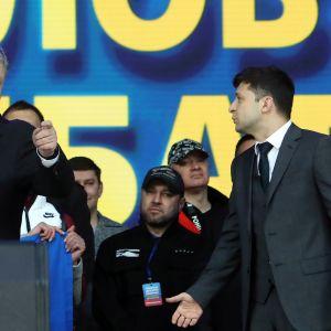 Petro Poroshenko Volodymyr Zelensky