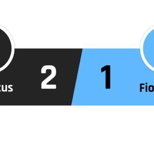 Juventus - Fiorentina 2-1